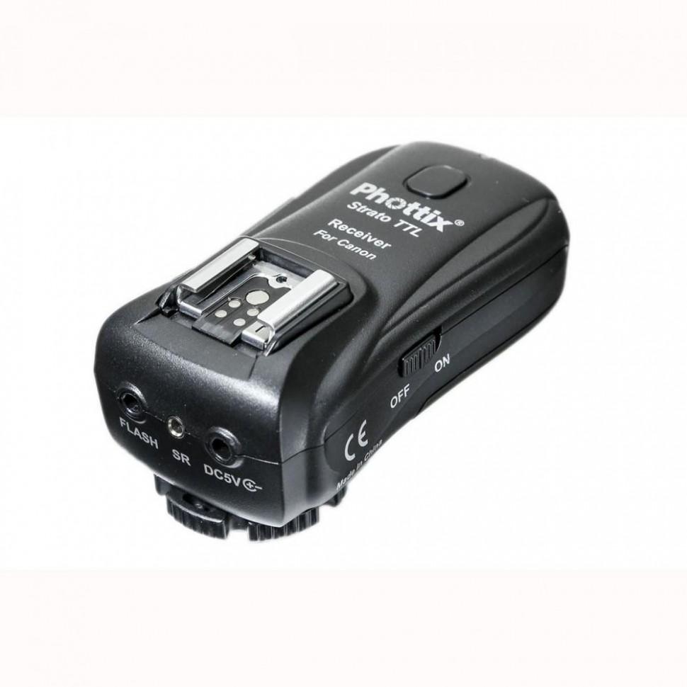 Радиосинхранизатор Phottix Strato TTL для вспышки Canon