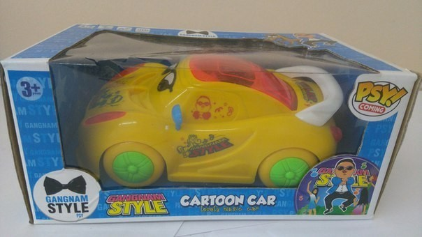 Игрушка Cartoon car Gangnam style