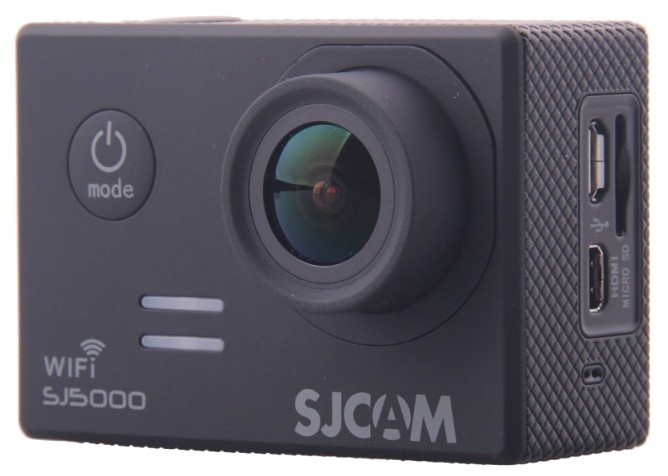Экшн камера Sjcam SJ5000 WiFi черная
