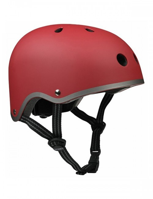 Защитный шлем Micro S красный матовый