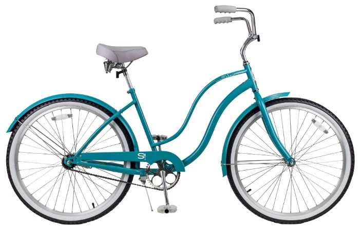 Велосипед Schwinn Cruiser One Womens (2015) Turquoise