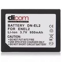 Аккумулятор Dicom DN-EL2 for Nikon EN-EL2