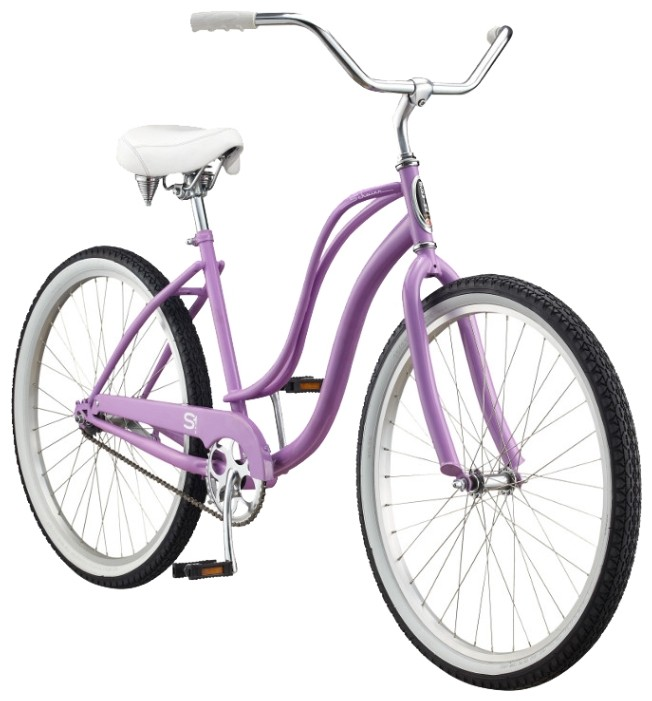 Велосипед Schwinn Cruiser One Womens (2015) Lavender