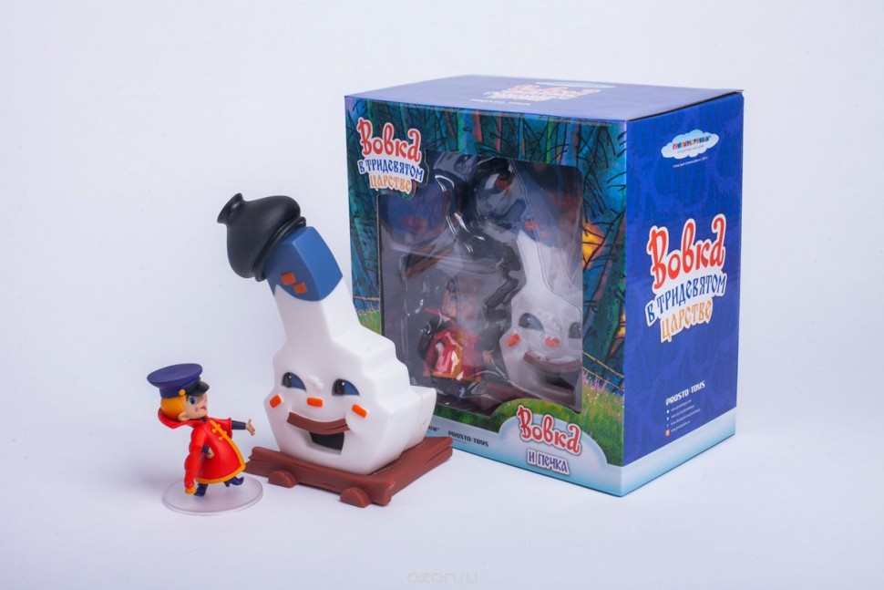 Набор фигурок Вовка и печка Prosto toys