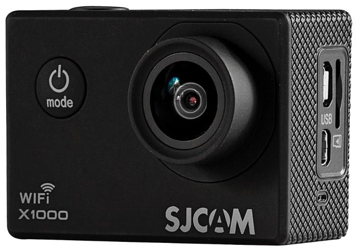 Экшн камера sjcam X1000 Wi-Fi черная