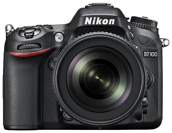 Зеркальный фотоаппарат Nikon D7100 kit 18-105VR