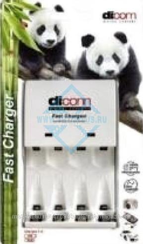 Зарядное устройство Dicom Panda DC407 (DC40+4ак/2700)