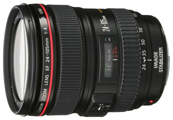 Объектив Canon EF 24-105 mm f/4.0 L IS USM