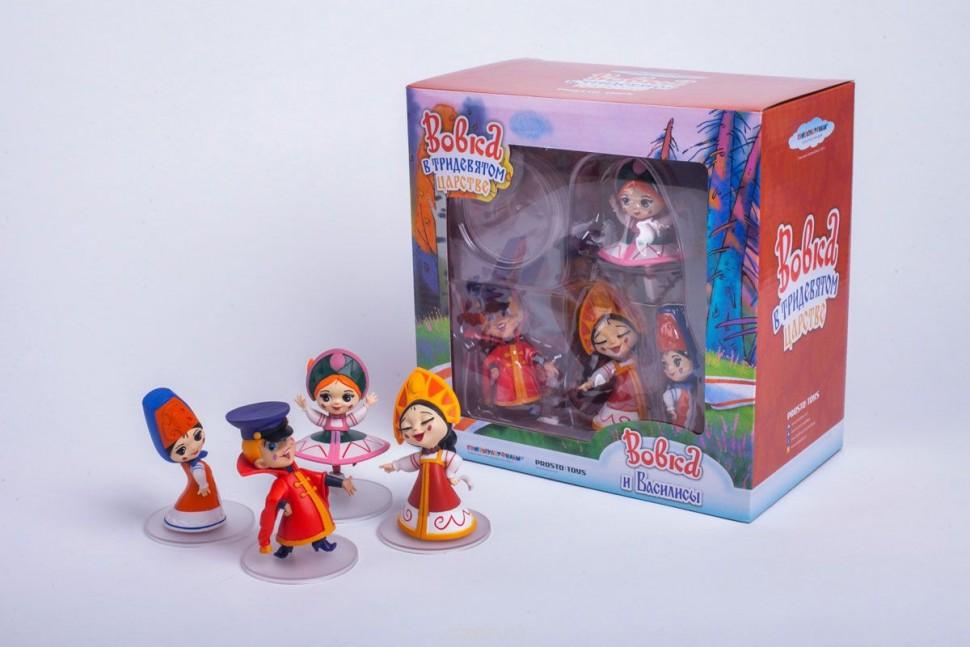 Набор фигурок Вовка и Василисы Prosto toys