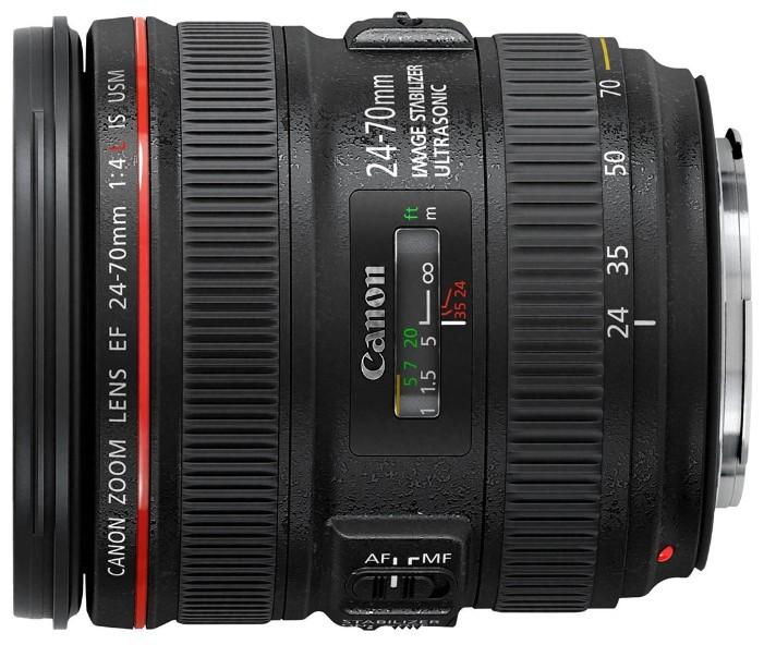 Объектив Canon EF 24-70 mm f/4.0 L IS USM
