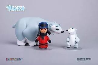 Набор фигурок мультфильма Prosto toys