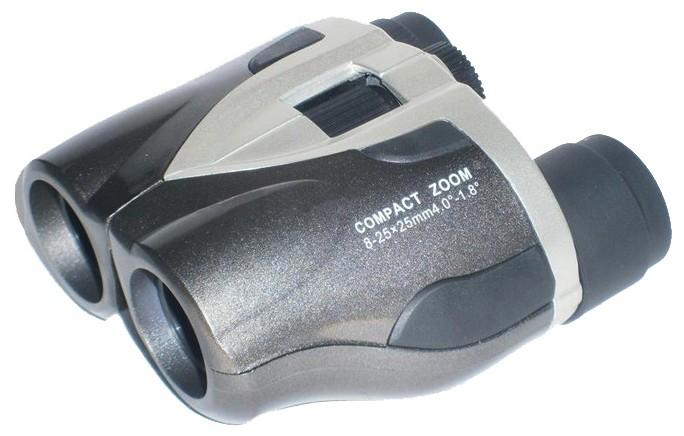 Бинокль Navigator 8-25х25 серебристо-серый