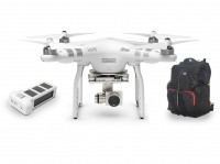 Квадрокоптер Phantom 3 Advanced + Extra battery + Phantom Backpack