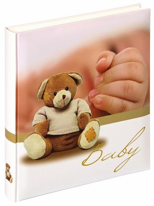Фотоальбом Walther UK-109 28x30.5/50 бел.стр, 4ил. BabiesTouc детский с мишкой