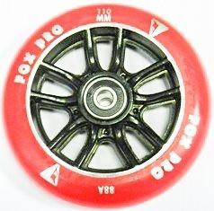 Колесо Cross 110 mm красный/черный