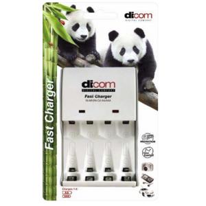 Зарядное устройство Dicom Panda DC40 на 4 аккумулятора