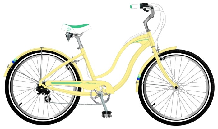 Велосипед Schwinn Hollywood (2015) Yellow