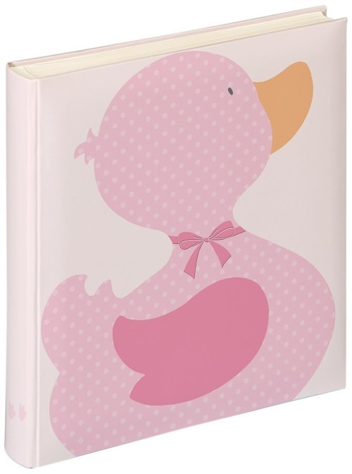 Фотоальбом Walther UK-120 28x30.5/50 бел.стр, 4 Ducky Girl розовый