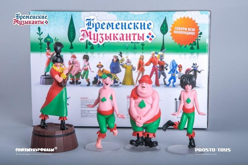 Набор фигурок Разбойники Prosto toys