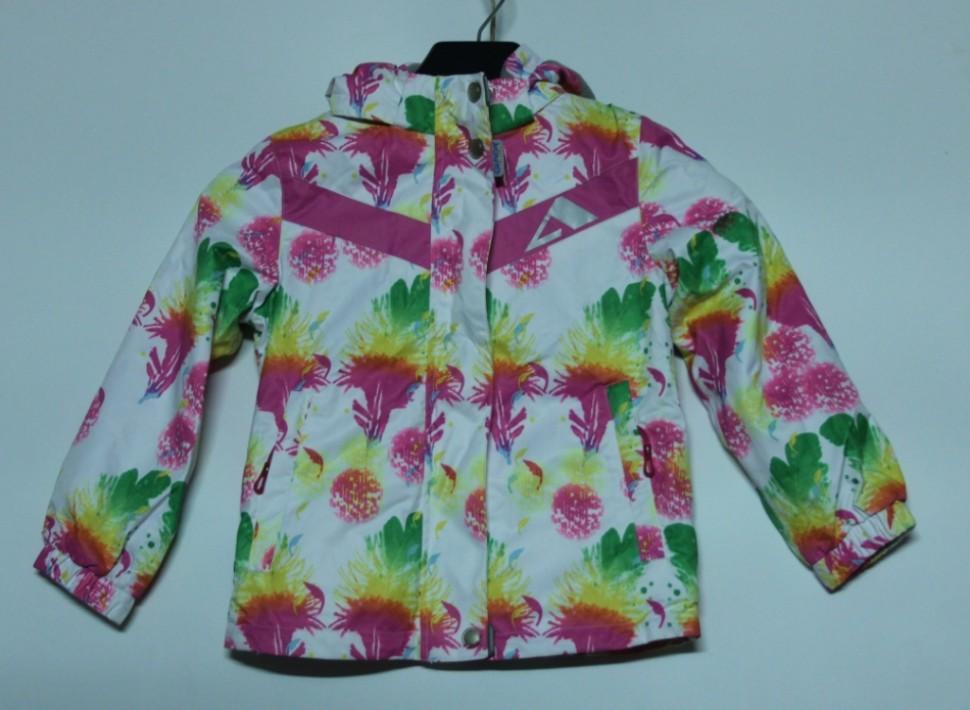 Куртка 15/OA-3JK213-1 белый принт, розовый