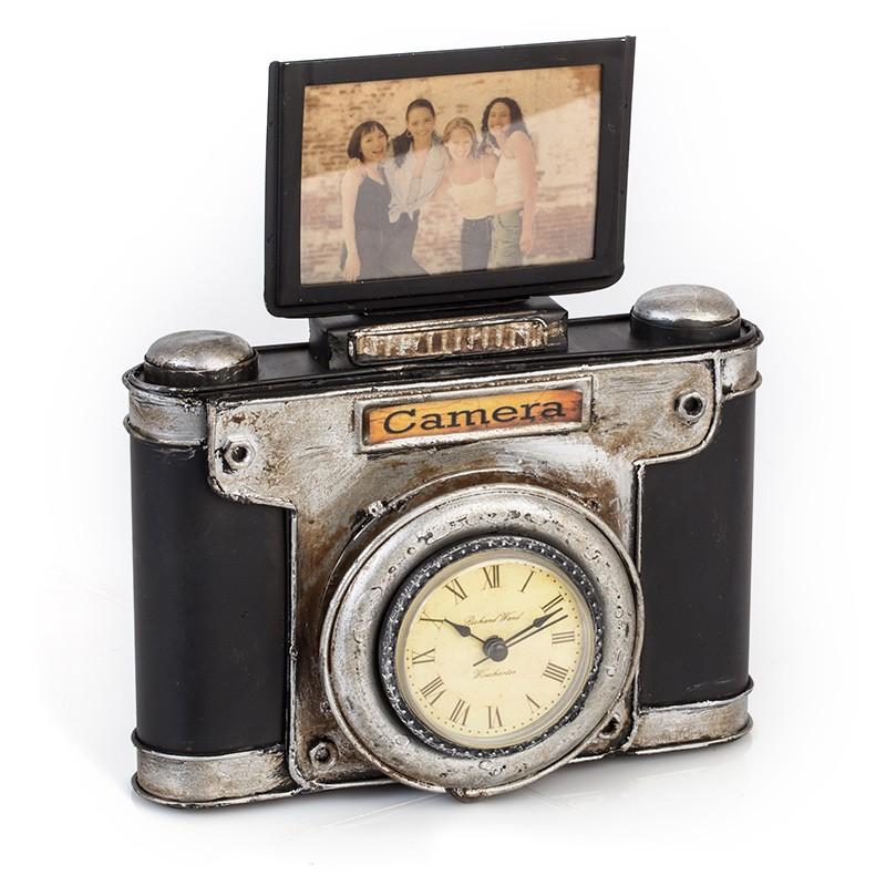 Фоторамка с часами Platinum