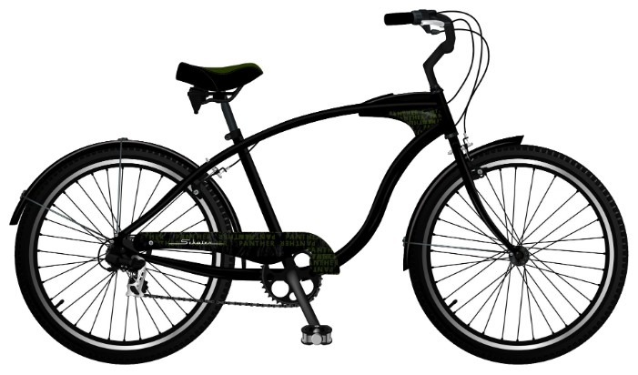 Велосипед Schwinn Panther (2015) Matte Black