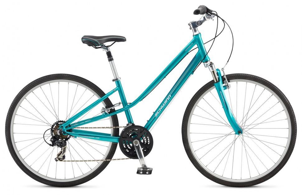 Велосипед Schwinn Voyageur Women Blue