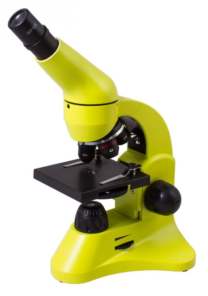 Микроскоп Levenhuk Rainbow 50L LimeЛайм