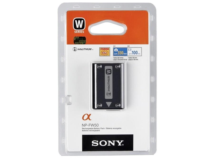 Аккумулятор Sony NP FW-50