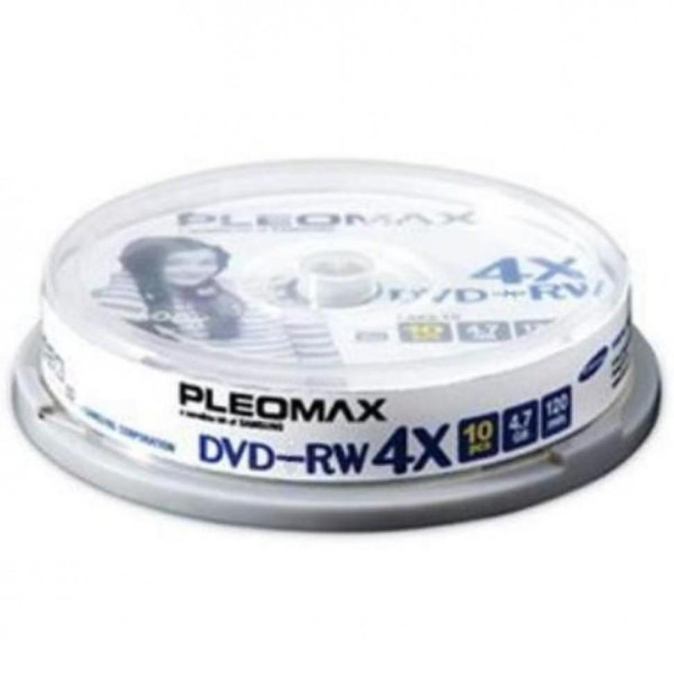 Диски Samsung DVD-RW 4.7Gb 4x Cake (10)