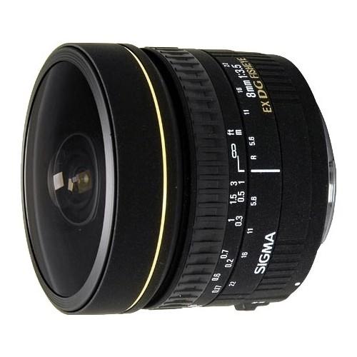 Объектив Sigma AF 8mm f/3.5 EX DG Circular Fisheye Canon EF