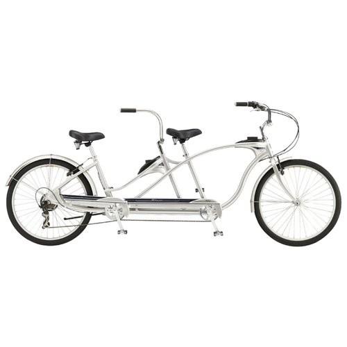 Велосипед Tango Tandem silver
