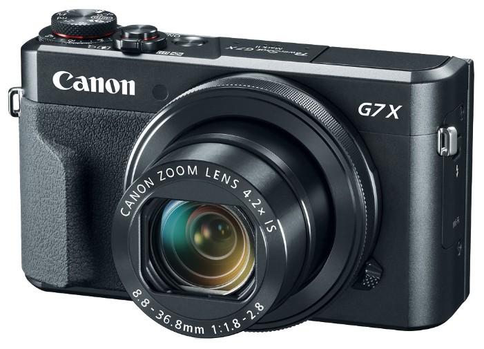 Фотоаппарат Canon PowerShot G7X Mark II