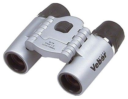 Бинокль Veber Sport БН 6х18 silver