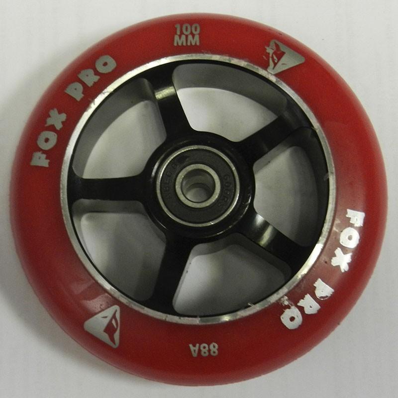 Колесо 5Spoke 100 мм красный /черный