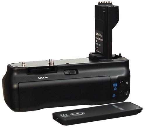 Батарейная ручка Dicom Сanon 20D 30D 40D 50D + пульт