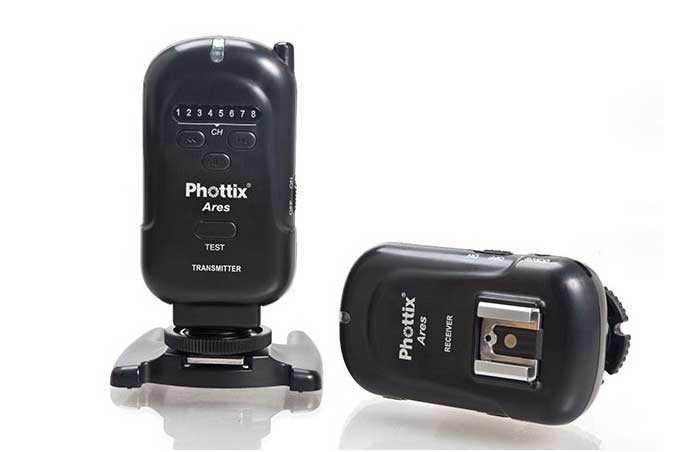 Радиосинхронизатор вспышек Phottix Ares