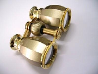 Бинокль БГЦ 4*30 А03 (шампань/золото с фокусировкой)