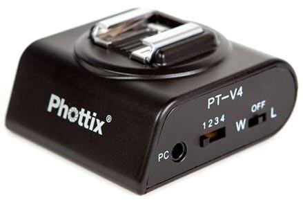 Приемник беспроводного д/у вспышкой Phottix Aster PT-V4 89350