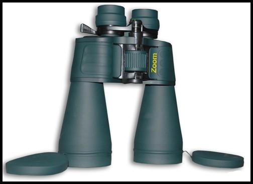 Бинокль Navigator 10-30x60 зеленый