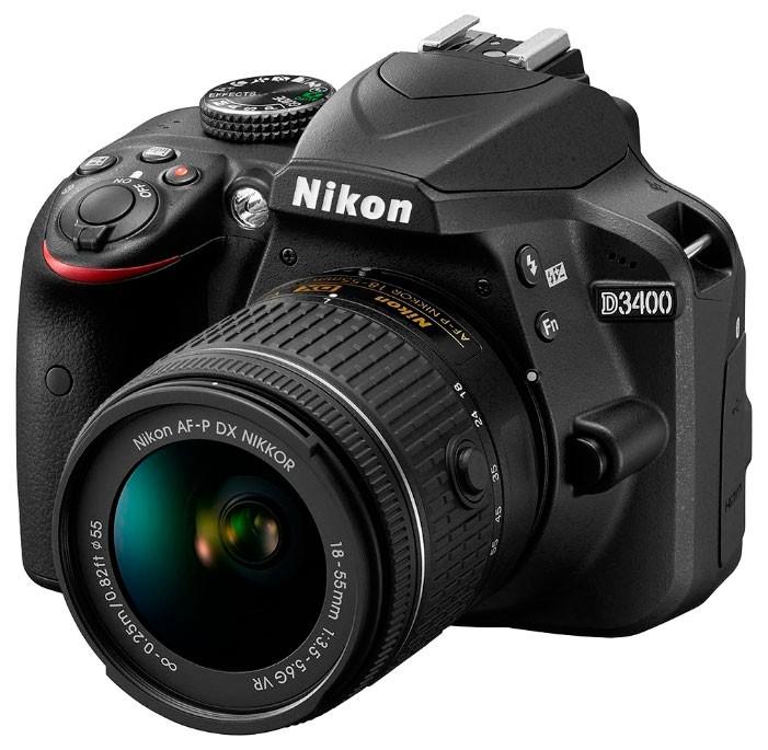 Цифровой фотоаппарат Nikon D3400 Kit 18-140
