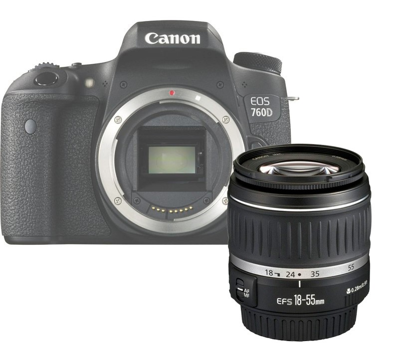 Canon EOS 760D  Kit 18-55 DC