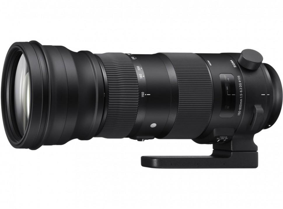 Объектив Sigma  AF 150-600 mm F/5.0-6.3 DG OS HSM Sports Canon
