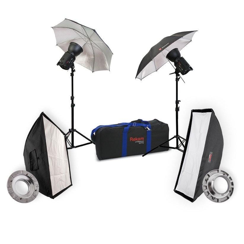 Комплект студийного света Rekam HaloSuper-1K Ub & Sb Kit 4