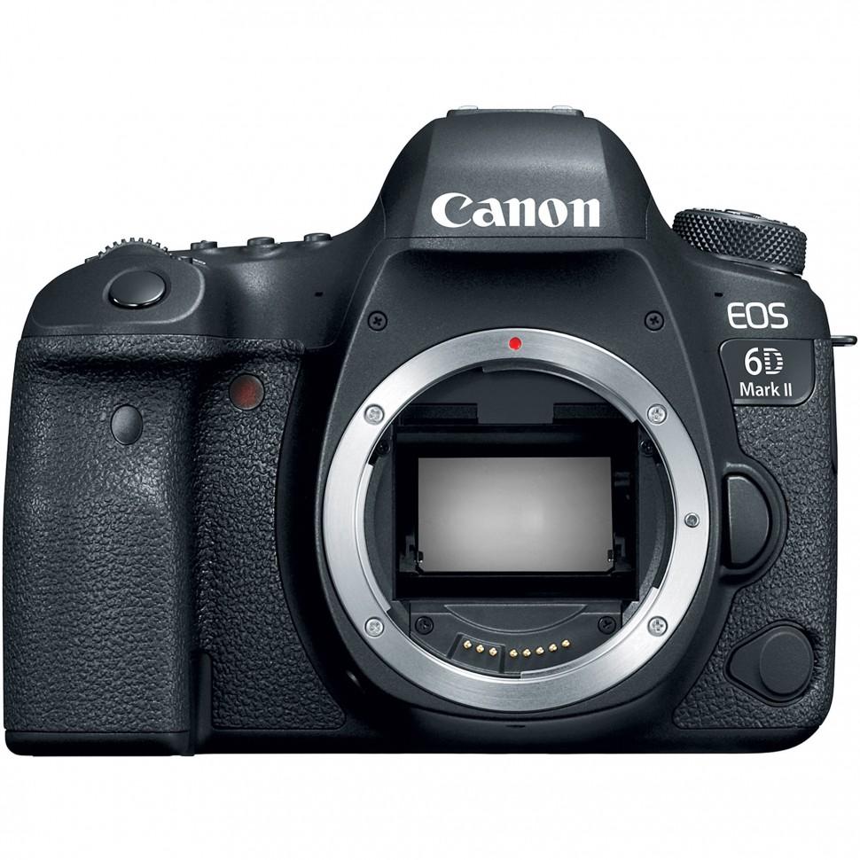Зеркальный фотоаппарат Canon EOS 6D Mark II Kit 50 1.8 stm
