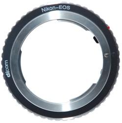 Адаптер Dicom для объектива Nikon -Canon EOS