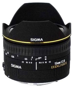 Sigma AF 15mm f/2.8 EX DG Diagonal Fisheye Nikon F