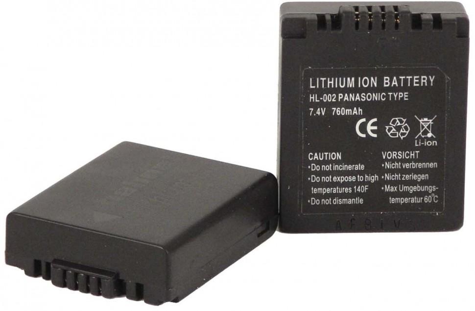 Аккумулятор Hahnel HL-002 Panasonic Type Li-lon