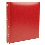 Фотоальбом Henzo 10053 28x30.5/70 черн.стр. Basicline красный