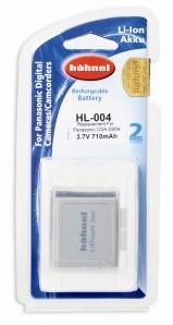 Аккумулятор Hahnel HL-004 Panasonic Type Li-lon